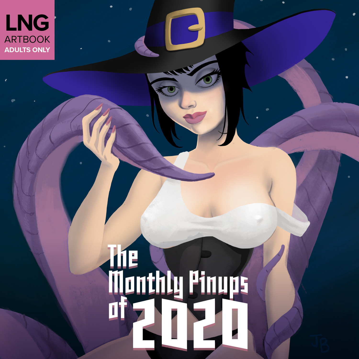 The Monthly Pinups of 2020 Art Book